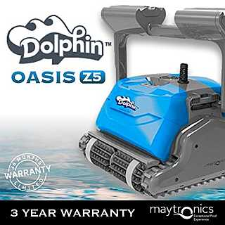 Dolphin Oasis Z5 Expensive But Includes Caddy And Remote